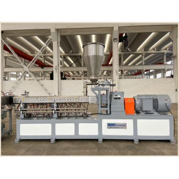250-350kg/H Double Screw Extruder for Compounding Pelletizing