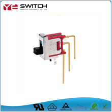 Gold Plated Terminal PC thru-hole Slide Switch