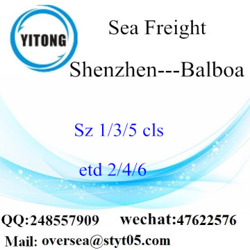 Shenzhen Port LCL Consolidation To Balboa
