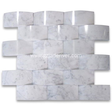 3D Marble Mosaic Tiles for Home Decoration