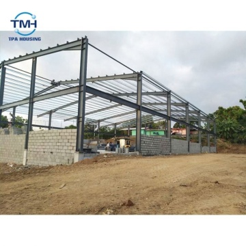 New Design Galvanized C Steel Structure Of Workshop