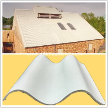 Non-asbestos Glazed Magnesium Oxide Roofing Tile
