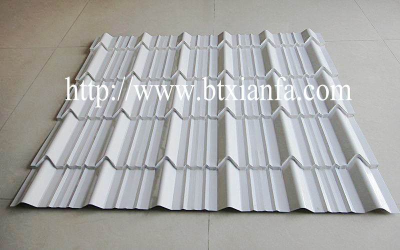 metal roll forming factory