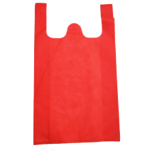 Custom Nonwoven Recyclable Vest Carrier Bag