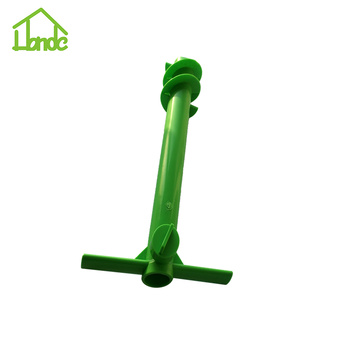 Sand Auger Anchor as Umbrella Base