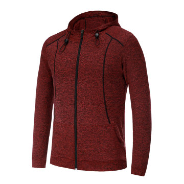 Polyester fit knitted jacket for men and women