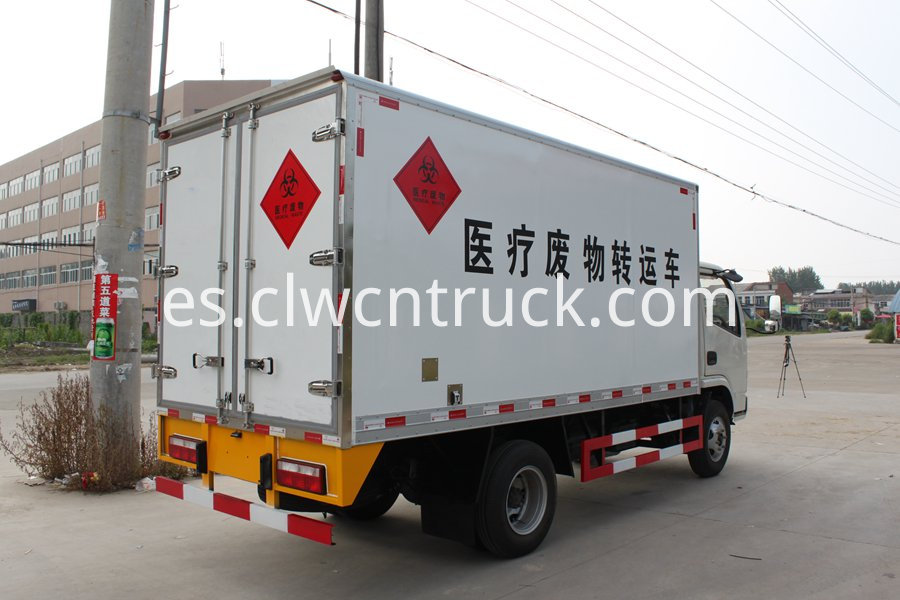 Medical waste transport vehicle 3