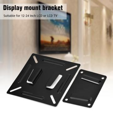 for LCD LED Plasma Monitor TV Screen Wall Stand Bracket Holder Premium Support 12-24 inch Flat Television Panel AccessoriesMetal