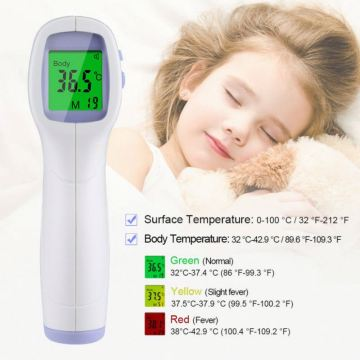 Non Contact Ear LCD Display Forehead Infrared Thermometer