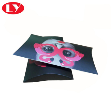 Custom Printed Full Color Paper Pillow Box