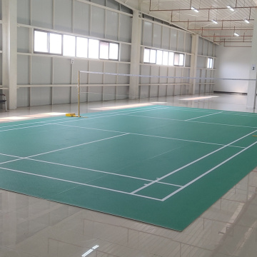 INDOOR PVC badminton Sports Flooring