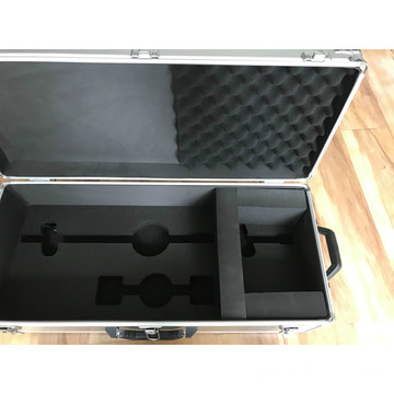Solid Profile Aluminum Cases with Foam Insert