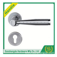 SZD stainless steel tubular lever door handle with Latch