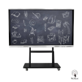 98 Inches UHD Touchscreen Monitor with mobile stand