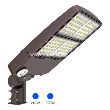 LED Area Shoebox Light 200W with Photocell