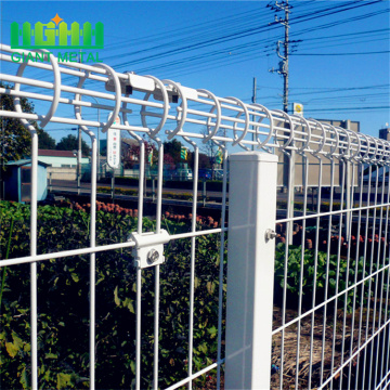 BRC galvanized wholesale wire fencing double circle fences