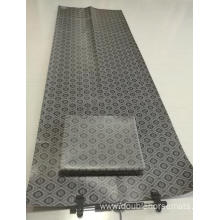 PVC plain wave yoga mat
