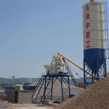 Electrical hopper ready mix concrete batching plant