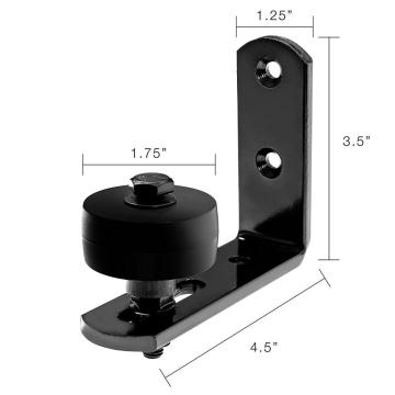 Stay roller for barn door sliding hardware kits