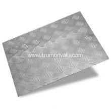Anti-Slipping Floor Used Aluminum Embossed Sheet
