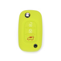 Silicone car key shell for renault duster
