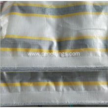Stripe Color PE Tarpaulin Poly Tarp