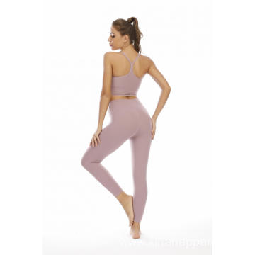 Yoga Suit Women Training Two Piece Suit