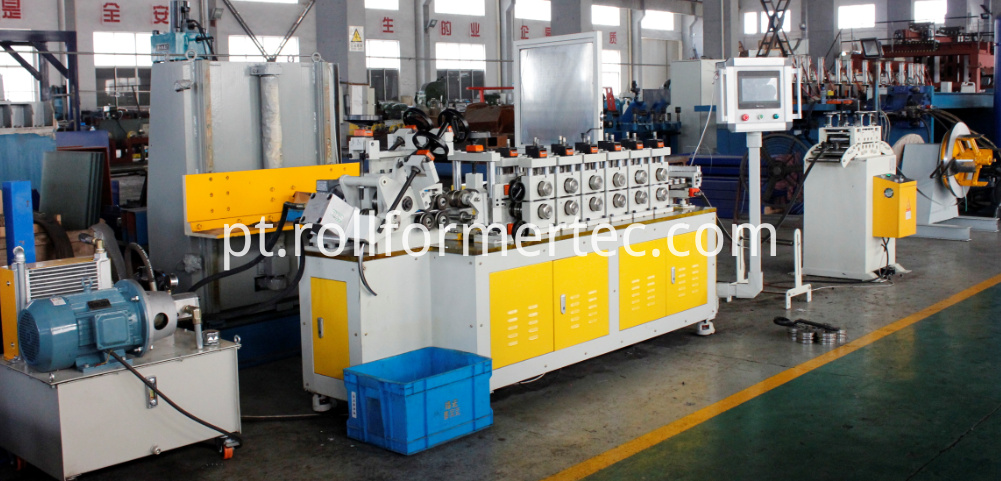 tube clamp rollformers