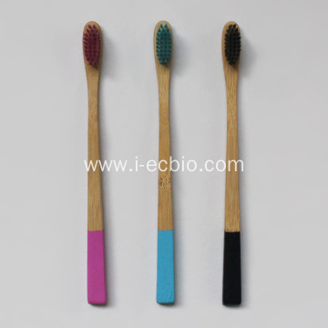 Environmentally Friendly Bamboo Toothbrush With Paint
