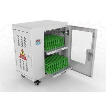 UV-C light disinfection charging cabinet