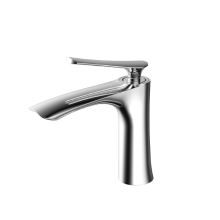 Hot sell brass modern basin faucet chrome