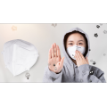 Disposable Ear Loop Fluid Shield Pleated Mask