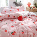 printed bedding cover set