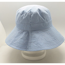 Custom New Style Fishing Bucket Hat Wholesale with folding pocket