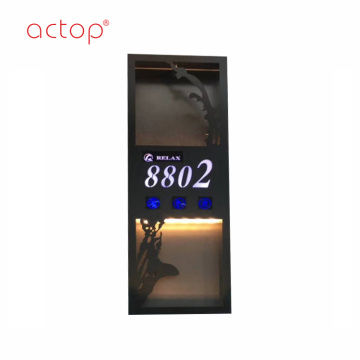 New Hotel Doorbell with Room Number Touch Screen Design