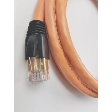 Super Bare Copper braided cable Cat 7 SFTP