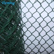 Factory PVC Coated Weave Chain Link Wire Mesh