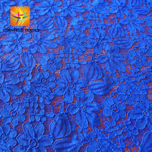newest useful factory ghana crochet polyester lace fabric