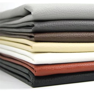 2020 Latest Litchi PU Leather for Upholstery