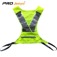 120gsm Polyester Mesh reflective running safety vest