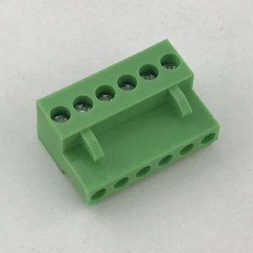 3.96MM Pitch Green Female Pluggable Terminal Blocks