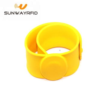 RFID Low Frequency  Silicone Slap Wristband