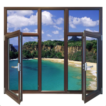 Lingyin Construction Materials Ltd Best prices New design double glazed glass aluminum casement window