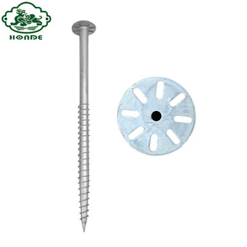 Removable Galvanized Q235 Steel Ground Anchor