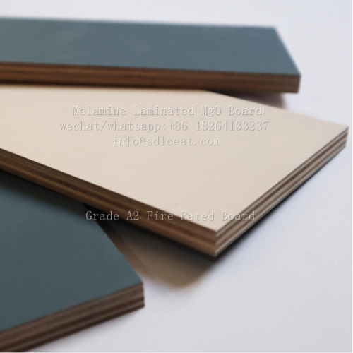 moisture proof melamine paper coated mgo decorative panels