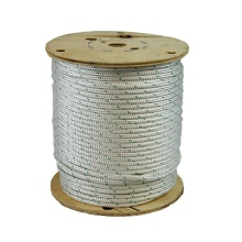 Durable and wear resistant strong nylon polyester rope