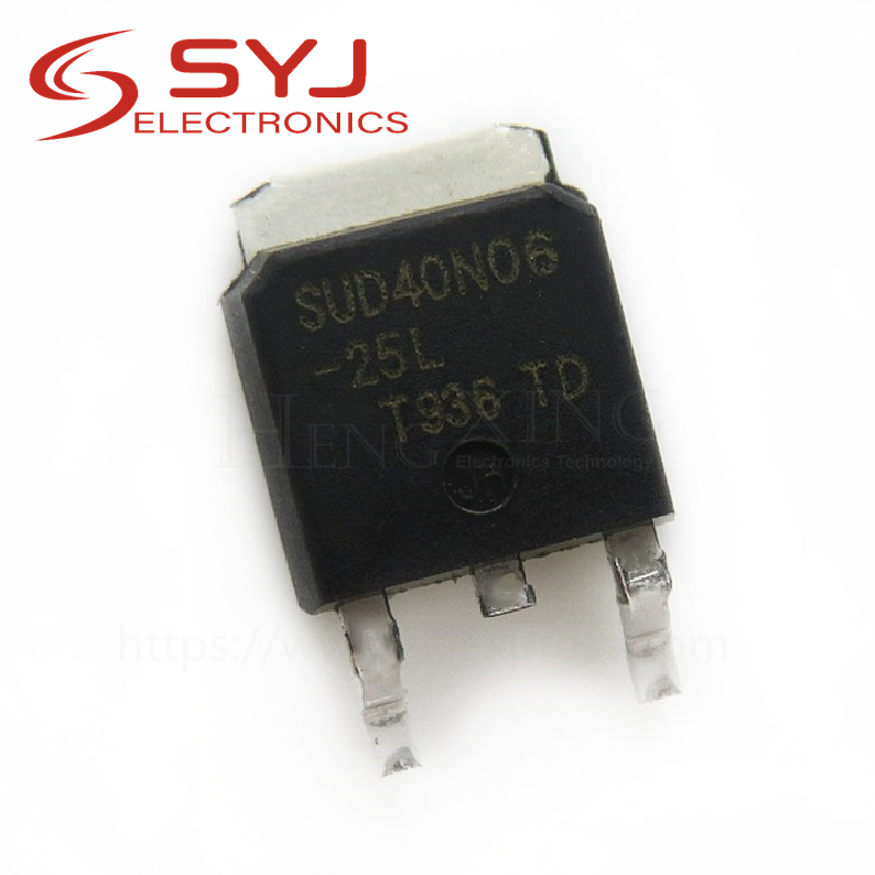10pcs/lot [ Electronic ] new original 40N06 SUD40N06-25 TO252 package In Stock
