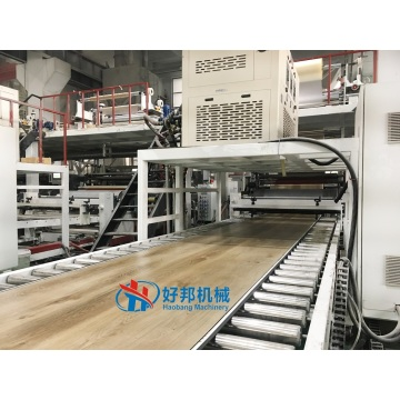 Professional SPC stone plastic floor production line