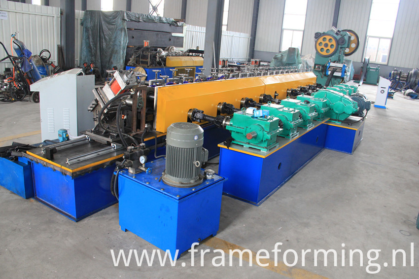 Slotted Strut Channel Roll Forming Machine