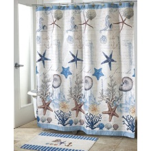 Shower Curtain PEVA Classic Sea Creatures